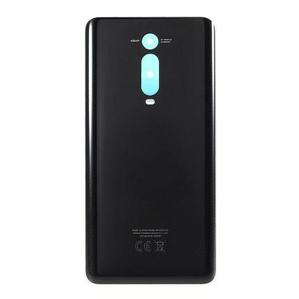 Задняя крышка Xiaomi Mi9T, Mi 9T, Redmi K20, Redmi K20 Pro, черная, Carbon Black, фото 2