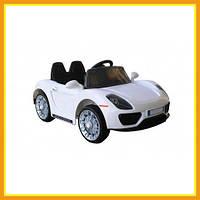 Электромобиль Детский Ездовой Городской LQ7188A Porsche Для мальчиков Белый
