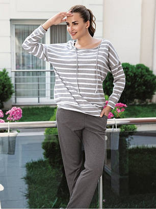 Новинка Модный женский домашний костюм 26b4612938350