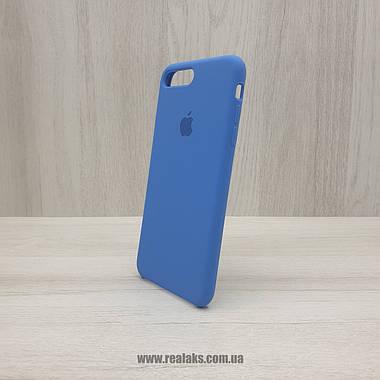 Чехол Silicone Case для Apple iPhone 7/8 Plus royal blue, фото 3