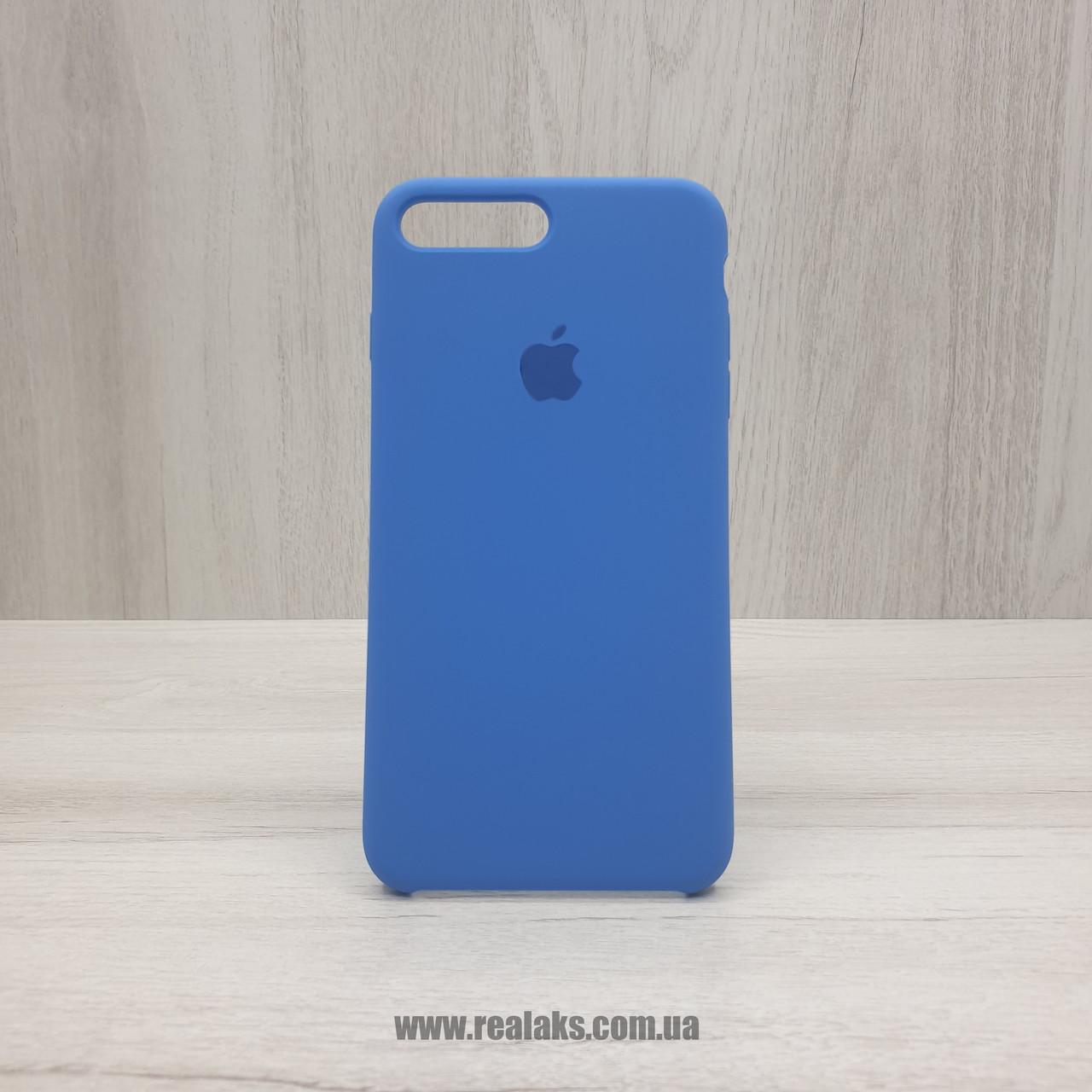 Чехол Silicone Case для Apple iPhone 7/8 Plus royal blue