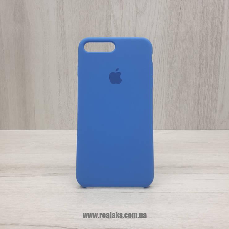 Чехол Silicone Case для Apple iPhone 7/8 Plus royal blue, фото 2