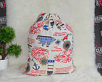 Пляжная сумка-торба Морская, фото 1