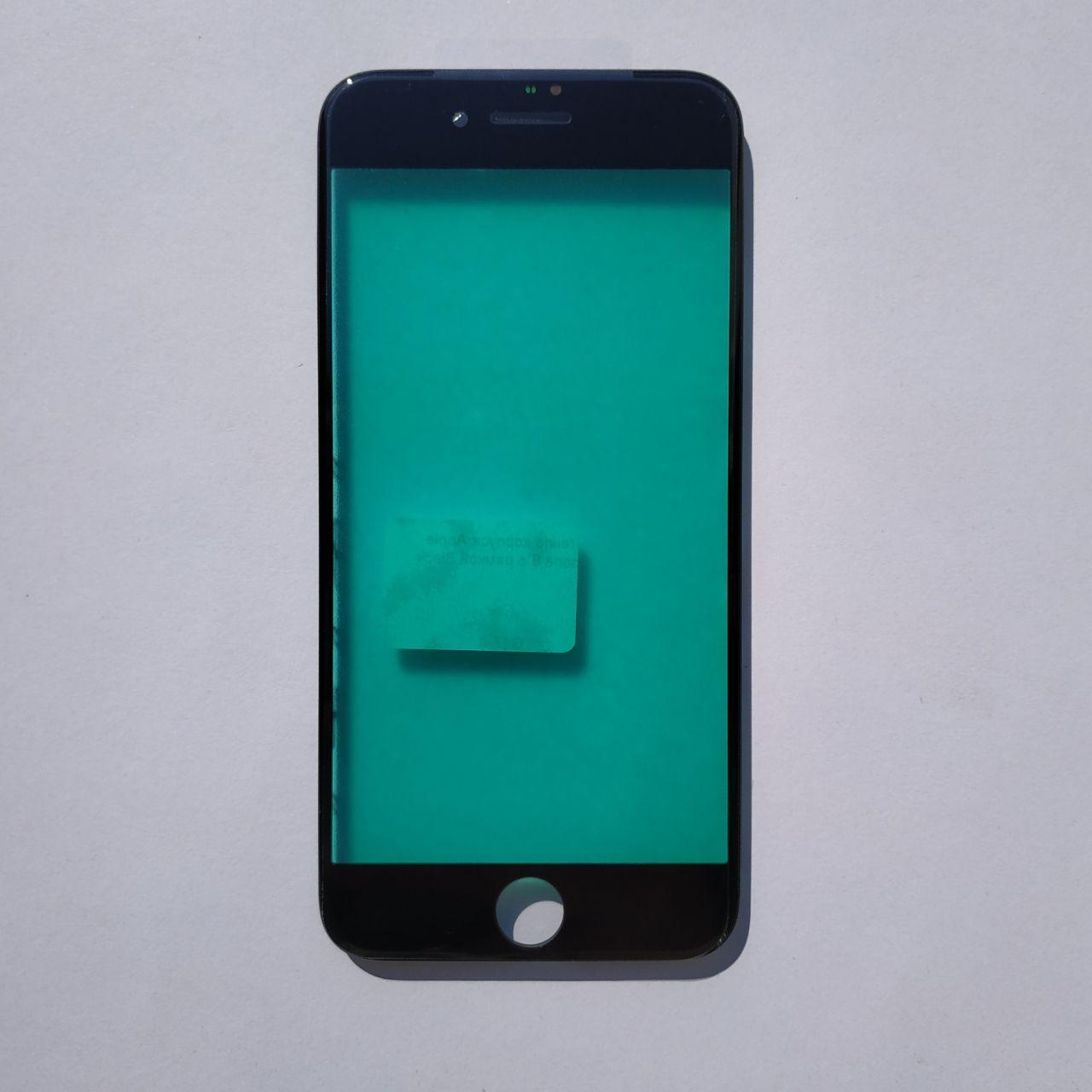 Стекло корпуса Novacel для Apple iPhone 8 iPhone SE 2020 с рамкой Black