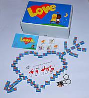 Подарочный большой крафт набор Love is...