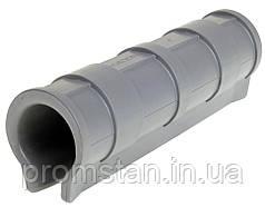 """Клипса пластиковая 1/2"""" для крепления тепличной пленки на трубу длина 15,5см (внешний диаметр 21-23мм)"""