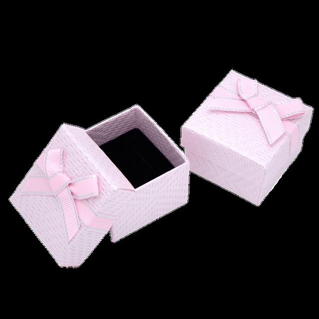 Картинка Бумажная коробка box1-3 Розовый