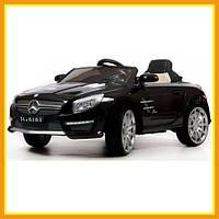 Электромобиль Детский Ездовой Городской BARTY Mercedes-Benz SL63 AMG Ч Для мальчиков Черный
