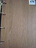 Дверь Леона Новый стиль ПВХ ULTRA с матовым стеклом, цвет дуб медовый, фото 2