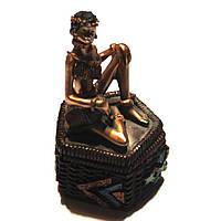 Статуэтка африканки со шкатулкой 7626 C