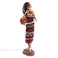 Статуэтка африканской молодой девушки 90002 B