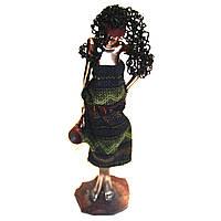 Статуэтка чернокожей африканки 90002 D