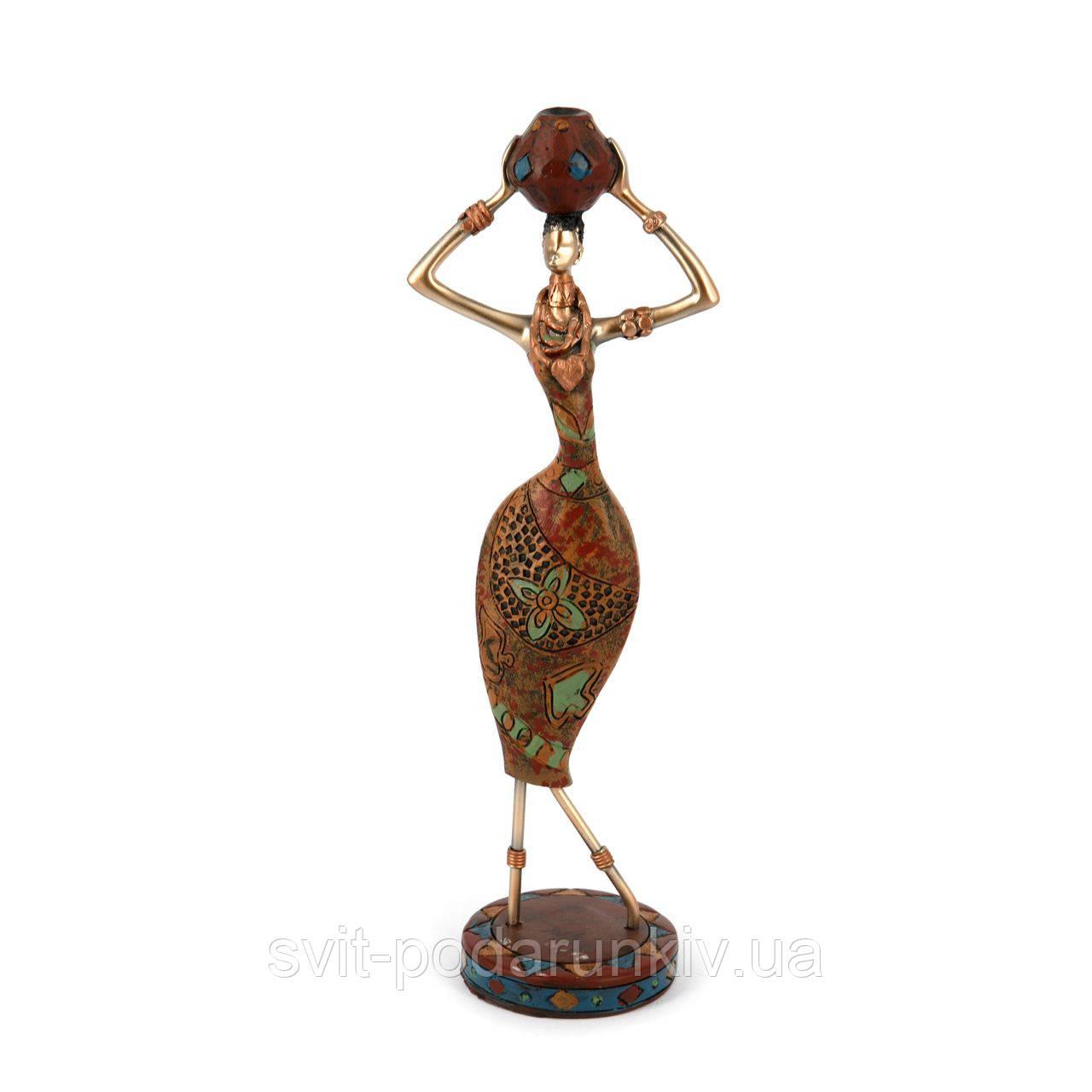 Декоративная фигурка африканки 7597 B