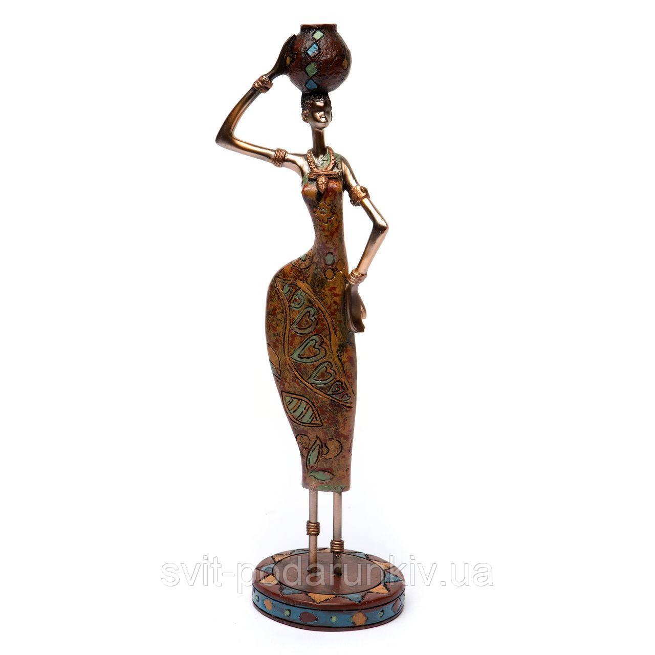 фигурка африканской девушки
