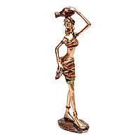 Африканская статуэтка женщины 6102 B
