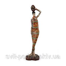 Декоративная фигурка африканки 7177 A