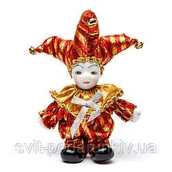 Статуэтка фигурка кукла венецианский шут A2 №2-02