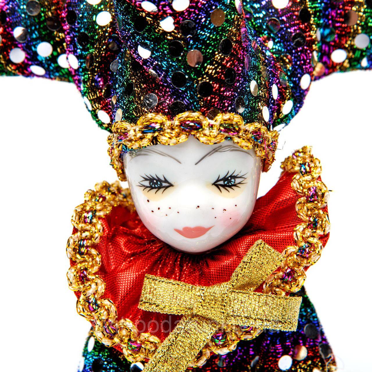 кукла венецианский шут