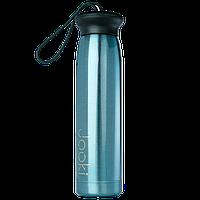 """Термобутылка """"Берет"""" из экоматериала, бирюзовая 320 мл"""