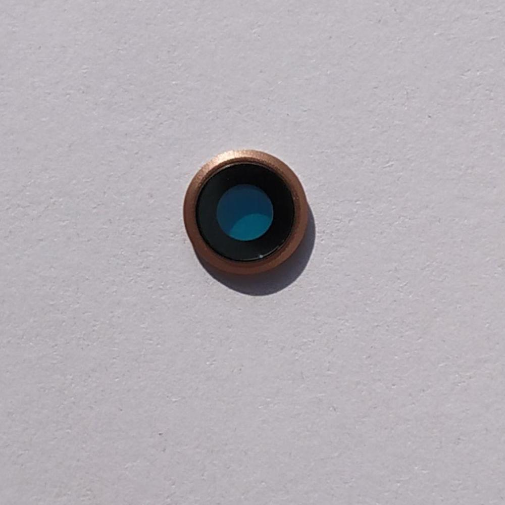 Стекло камеры Novacel для Apple iPhone 8 Gold