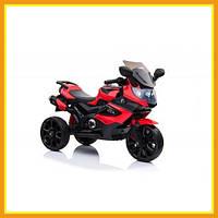 Электрический Мотоцикл Детский LQ168A Городской Для мальчиков Красный