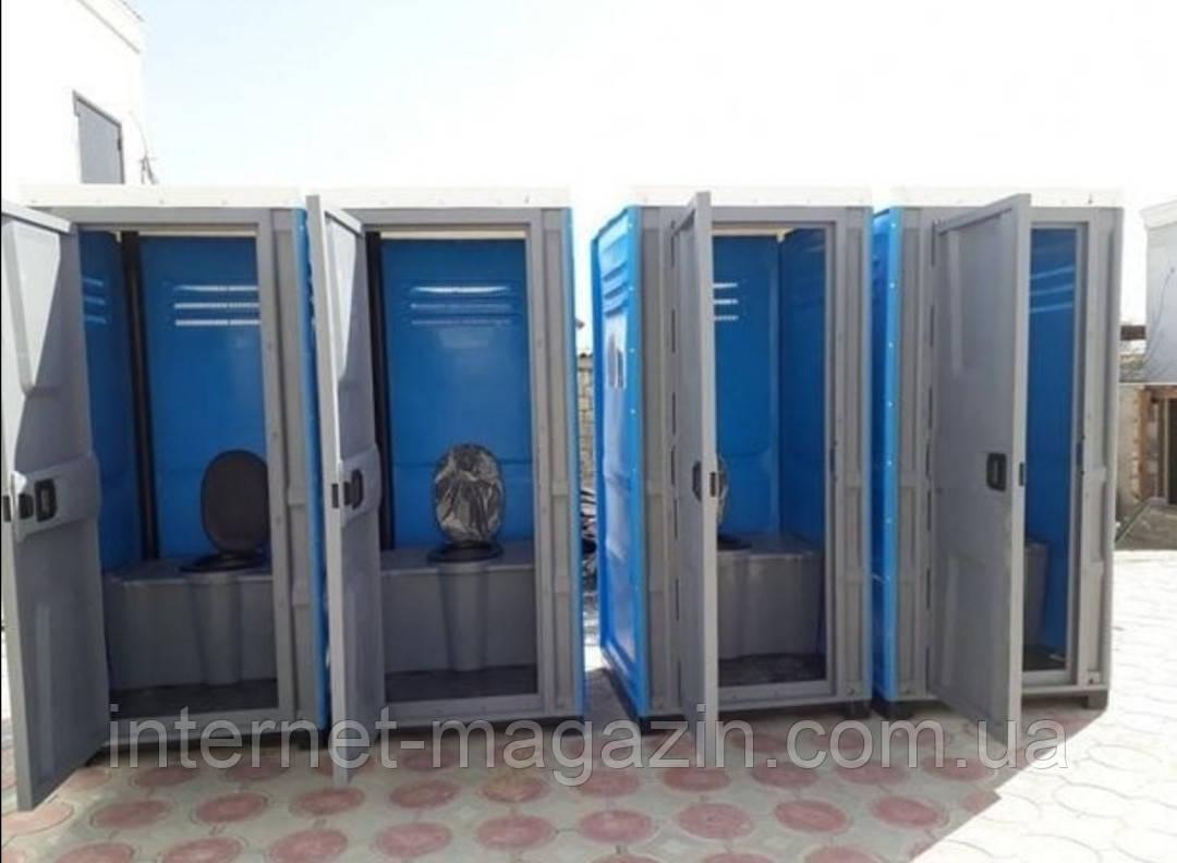 Туалетная кабина Люкс с усиленным пластиком