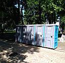 Туалетная кабина Люкс с усиленным пластиком, фото 8