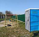 Туалетная кабина Люкс с усиленным пластиком, фото 6
