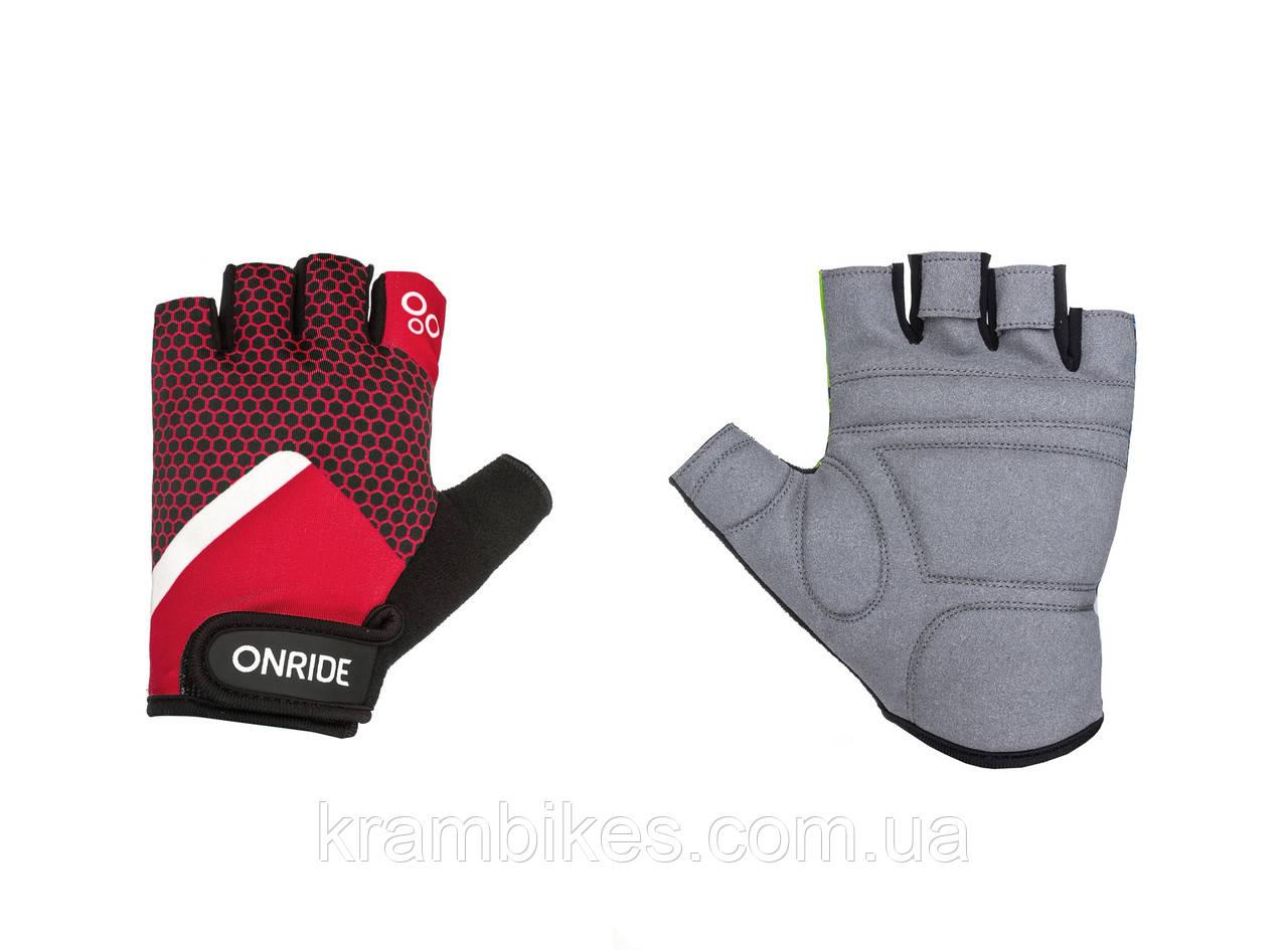 Перчатки OnRide - TID 20 Красный/Чёрный M