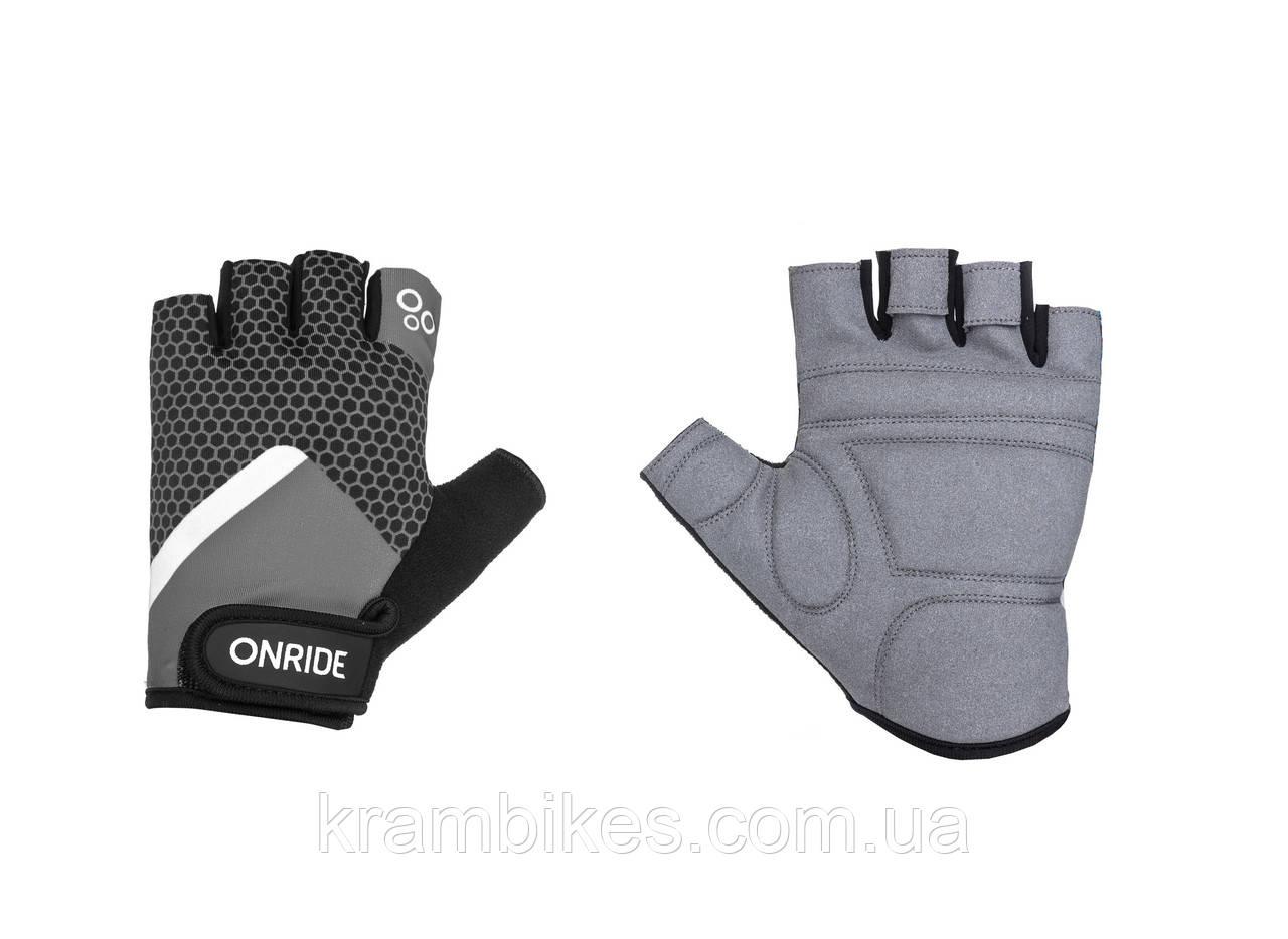 Перчатки OnRide - TID 20 Чёрный/Серый XS