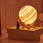 Увлажнитель воздуха - 3Д светильник Планета Уран. Диффузор-ночник Планета, фото 5