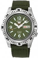 Мужские часы Seiko SRP145K1 5 Automatic Green Dial 4R36
