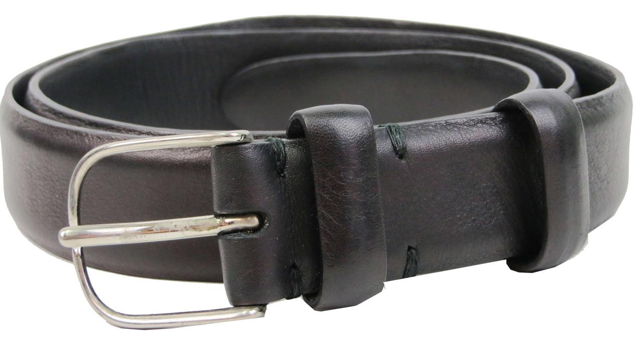 Женский кожаный ремень Farnese, Италия, SFA024 черный