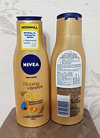Лосьон автозагар для тела Nivea Нивея Q10 Plus Firming Bronze Body Lotion 400 мл/ Лосьон для автозасмаги Нівея