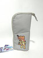 Детский пенал кошелек трансформер тканевый Fantasy, Tiger