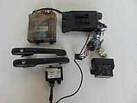 Блок управления двигателем Иммобилайзер замок VW LT 0281010086 ДВЕРНЫЕ РУЧКИ Комплект под заказ 4-8 дн.