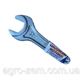 Ключ рожковый 1-сторонний 32 укороченный (производство г.Камышин)