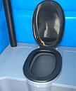 Биотуалет кабина Люкс с усиленным пластиком, фото 6