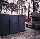 Биотуалет кабина Люкс с усиленным пластиком, фото 7