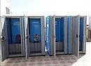 Биотуалет кабина Люкс с усиленным пластиком, фото 10