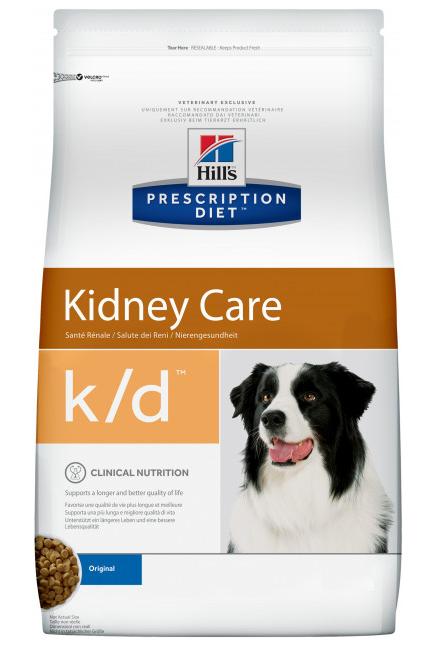 Хиллс Hills PD Canine K / D сухой корм для собак при почечной недостаточности, 2 кг