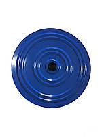 Диск здоровья Грация Onhillsport, металл, желтый/синий (ОХ OS-0701)