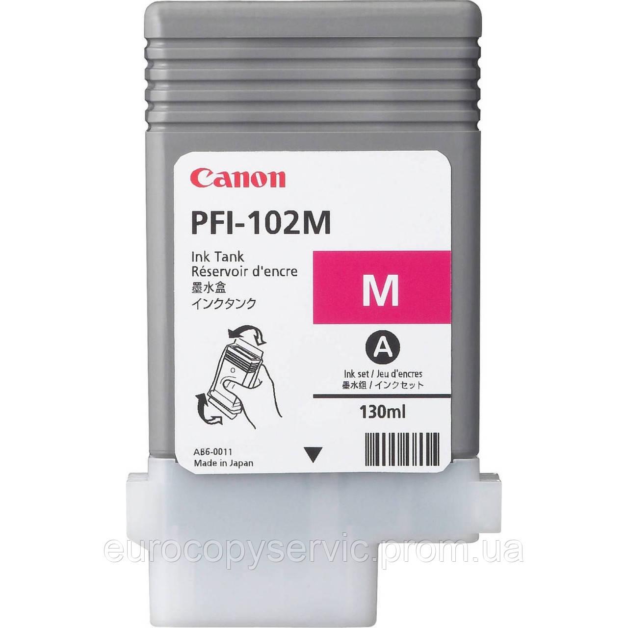 Картридж Canon для Pixma PFI-102M Magenta (0897B001AA) Original