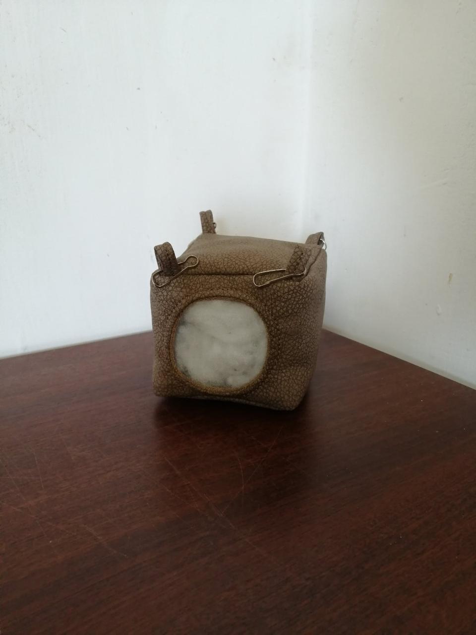 Подвесной домик для мышей,хомяков, 9*9*9 см, Гамак для мышей и хомяков