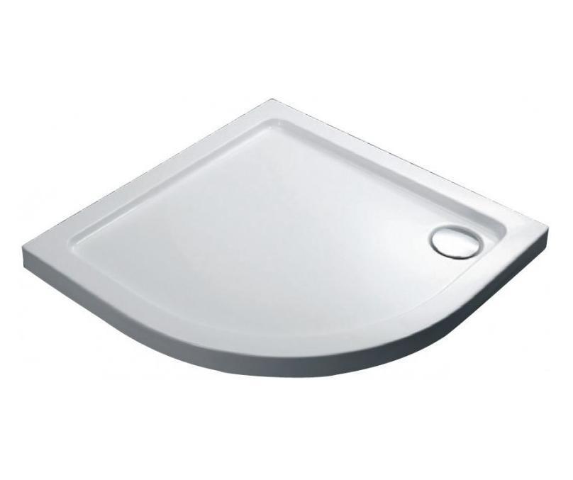 Піддон душовий, 1/4 кола, 90х90, з сифоном FTR1123 COMFORT