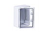 Шкаф ударопрочный ABS 250x350x150, МП, с прозрачными дверями, IP65