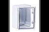 Шкаф ударопрочный ABS 300x400x170, МП, с прозрачными дверями, IP65