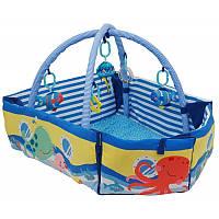 Игровой коврик Baby Mix TK/3462C-EU00 Кораблик