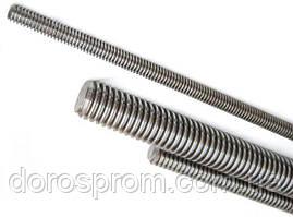 Резьбовая шпилька DIN 975 5.8 8.8 без покрытия и оцинкованная