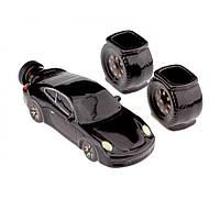 Штоф, коньячный набор в виде машины Porsche 911 (Порше 911), фото 1